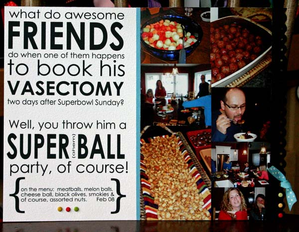 Superball party