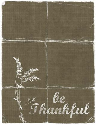 Be thankful burlap tattered copy